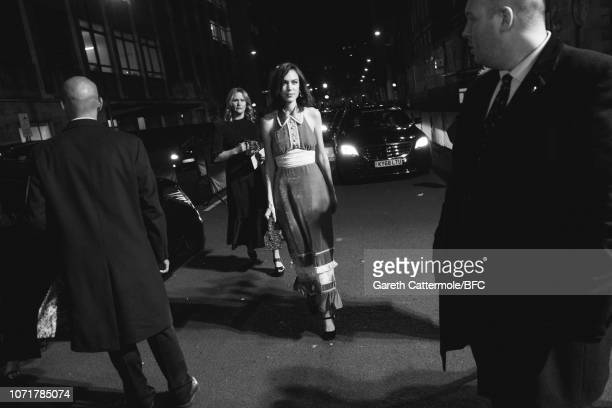 Alexa Chung attends The Fashion Awards 2018 In Partnership With Swarovski at Royal Albert Hall on December 10 2018 in London England