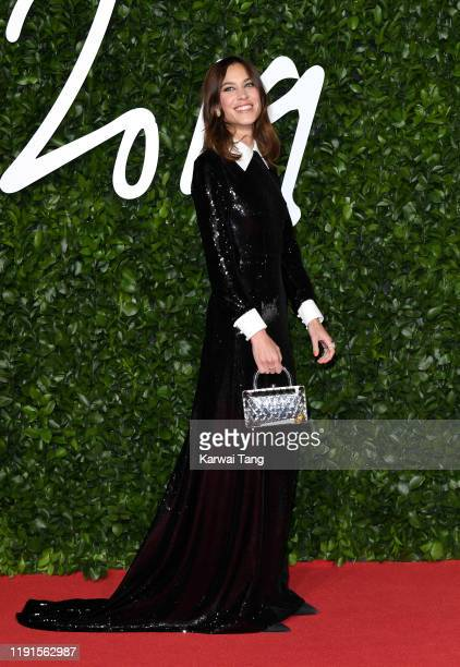 Alexa Chung attends The Fashion Awards 2019 at the Royal Albert Hall on December 02, 2019 in London, England.