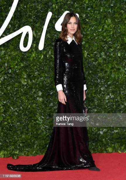 Alexa Chung attends The Fashion Awards 2019 at the Royal Albert Hall on December 02 2019 in London England