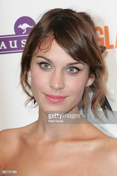 Alexa Chung attends the Glamour Women of the Year Awards 2008 on June 3 2008 at Berkeley Square Gardens in London