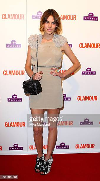 Alexa Chung attends the Glamour Women of the Year Awards at Berkeley Square Gardens on June 2 2009 in London England