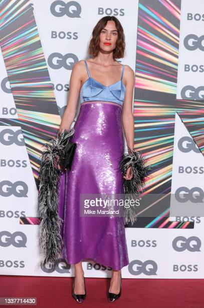 Alexa Chung attends the GQ Men Of The Year Awards 2021 at Tate Modern on September 01, 2021 in London, England.