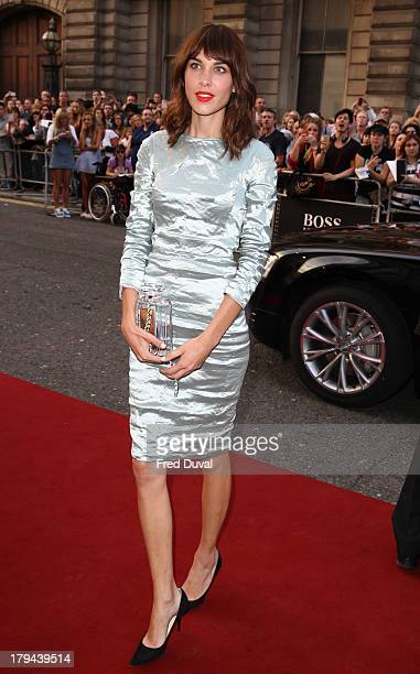 Alexa Chung attends the GQ Men of the Year awards at The Royal Opera House on September 3 2013 in London England