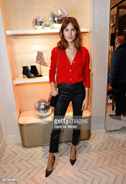Alexa Chung attends the Jimmy Choo x Annabel's party on November 8 2017 in London England