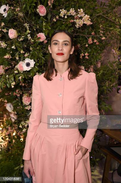 Alexa Chung attends the Netflix and Net-A-Porter x Next In Fashion launch event on February 05, 2020 in New York City.