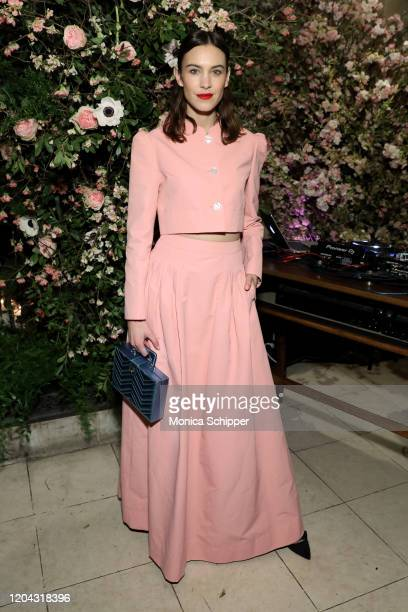 Alexa Chung attends the Netflix and NetAPorter x Next In Fashion launch event on February 05 2020 in New York City