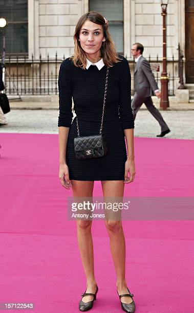 Alexa Chung Attends The Private View Of The Royal Academy Summer Exhibition 2010 At The Royal Academy Of Arts In London..