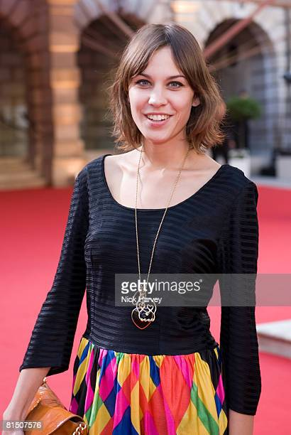 Alexa Chung attends The Royal Academy of Arts Summer Exhibition at the Royal Academy of Arts on June 4, 2008 in London, England.