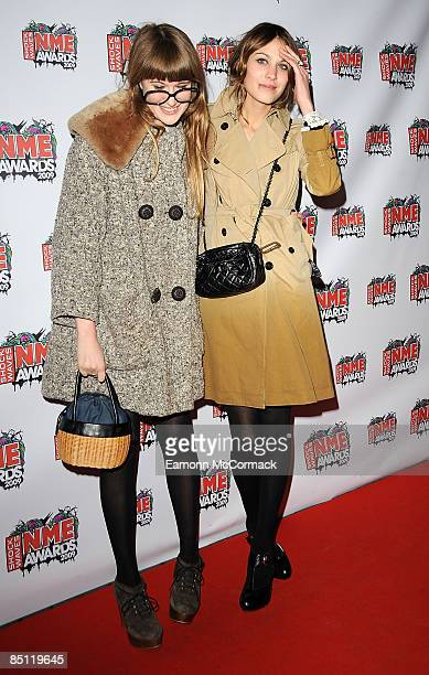 Alexa Chung attends the Shockwaves NME Awards at O2 Academy Brixton on February 25 2009 in London England