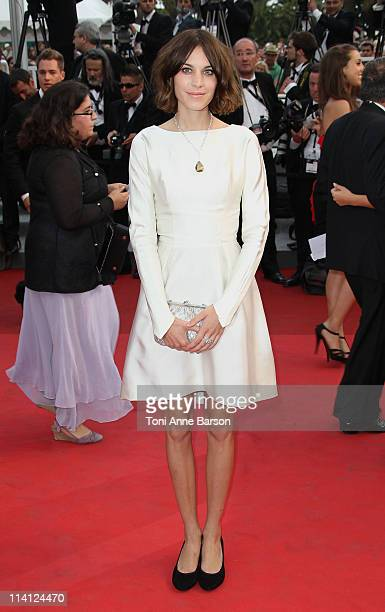 Alexa Chung attends the Sleeping Beauty Premiere during the 64th Annual Cannes Film Festival at the Palais des Festivals on May 12 2011 in Cannes...