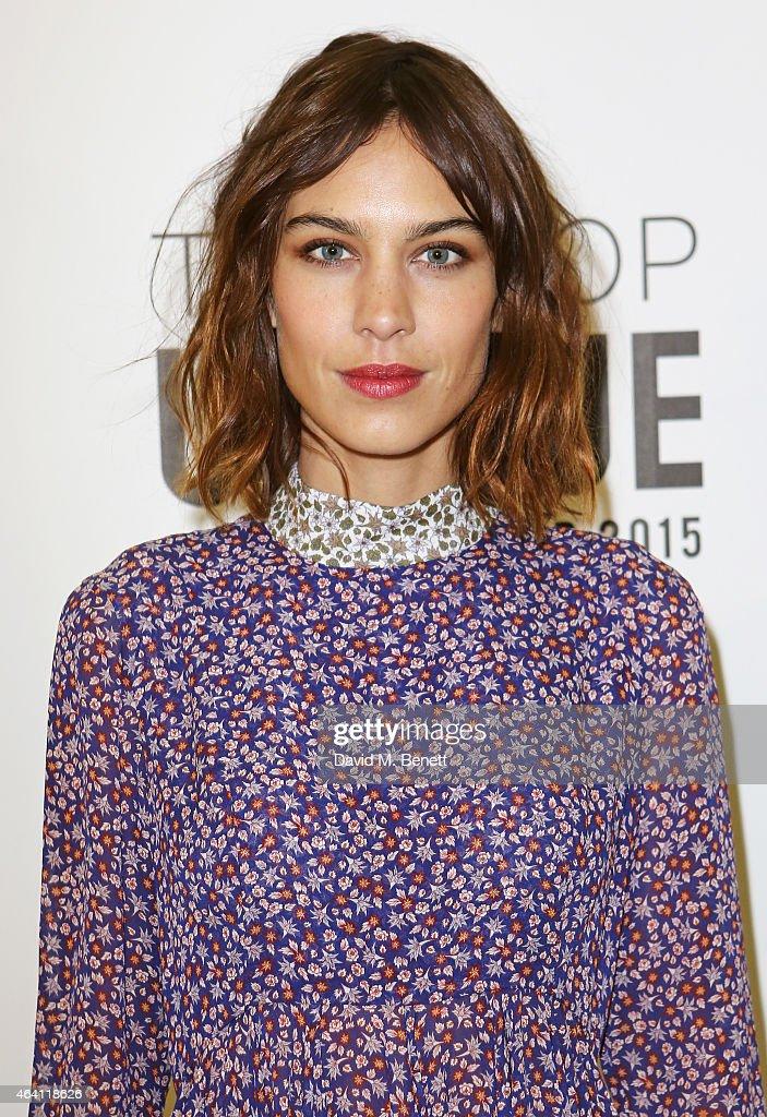 Topshop Unique - London Fashion Week AW15 : News Photo