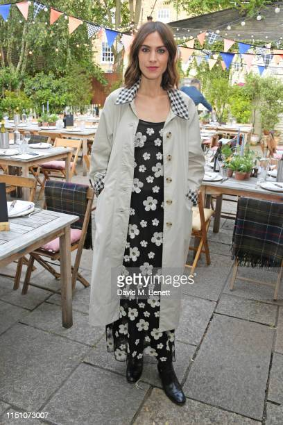 Alexa Chung attends the VIP London launch of the Barbour by ALEXACHUNG collection at The Albion on June 20 2019 in London England