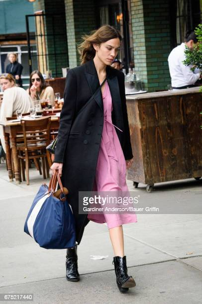 Alexa Chung is seen on April 30 2017 in New York City