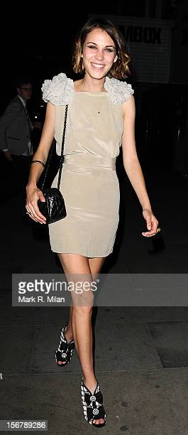 Alexa Chung is seen on June 2 2009 in London England