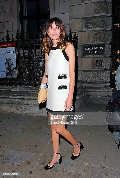 Alexa Chung is seen on May 31 2012 in London United Kingdom