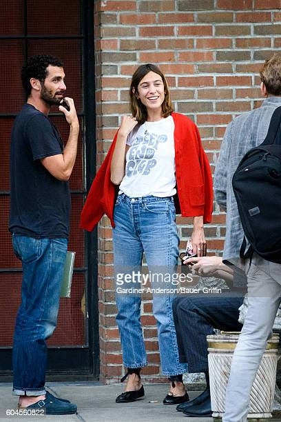 Alexa Chung is seen on September 13 2016 in New York City
