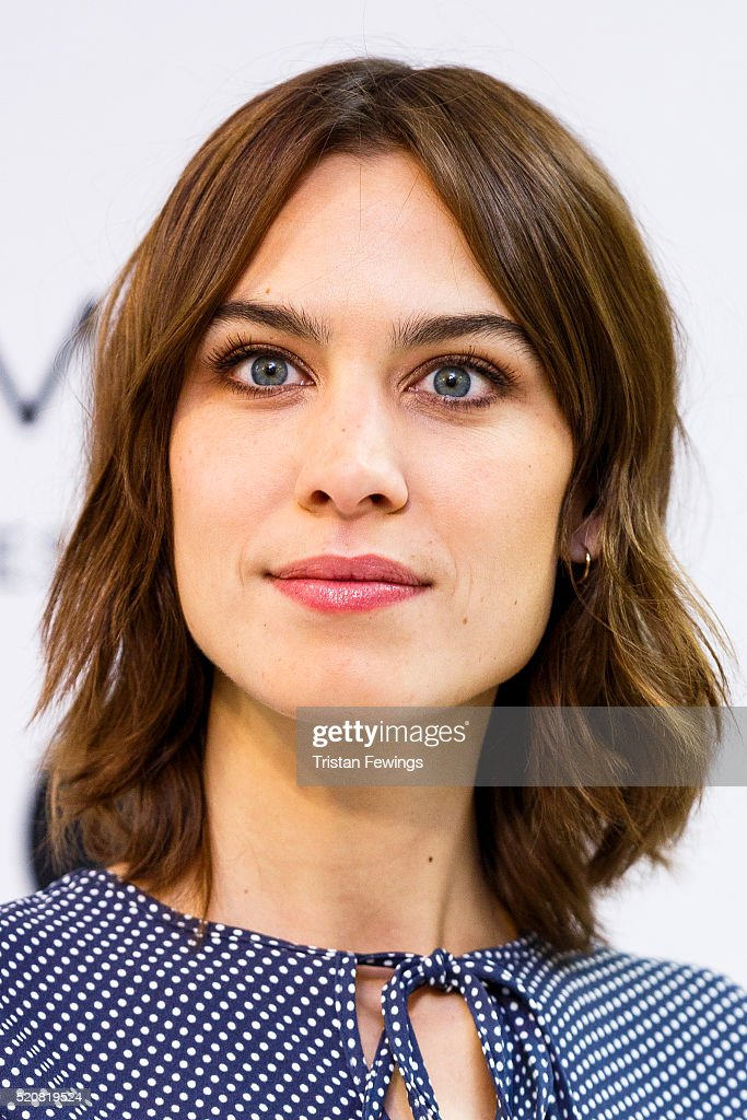 Marks & Spencer Announces A Collaboration With Alexa Chung : News Photo