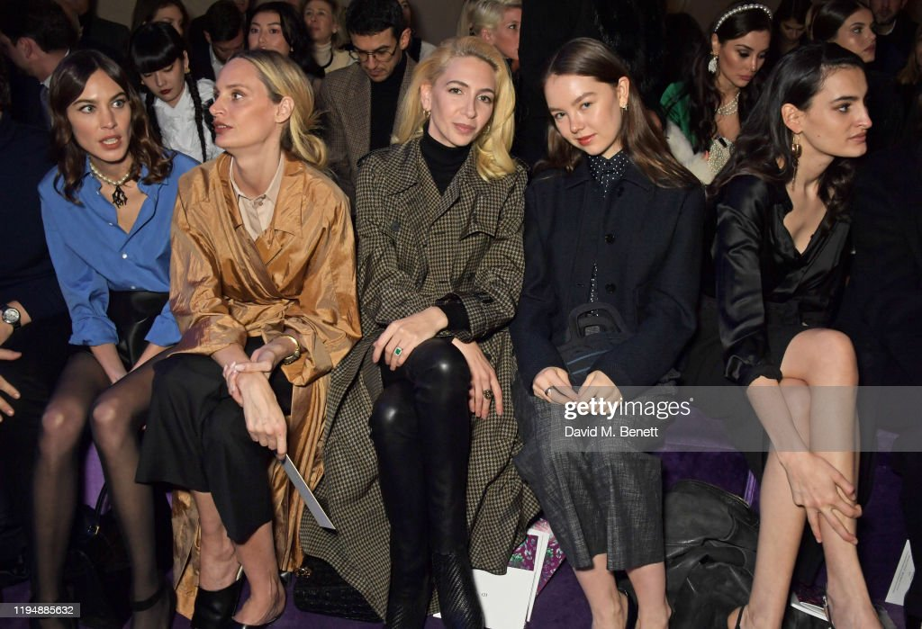 Dior: Front Row - Paris Fashion Week - Haute Couture Spring/Summer 2020 : News Photo