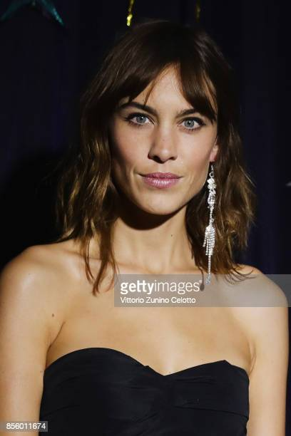 Alexa Chung Presents Prom Gone Wrong Collection At Avenue Trudaine as part of the Paris Fashion Week Womenswear Spring/Summer 2018 on September 30...