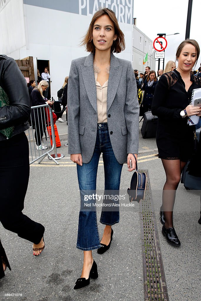 Celebrity Sightings On Day 4 Of London Fashion Week SS16 : News Photo