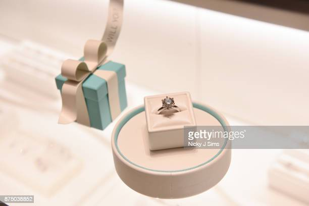 Alexa Chung unveils the Tiffany & Co. Boutique at Selfridges Birmingham at Selfridges on November 16, 2017 in Birmingham, England.