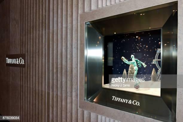 Alexa Chung unveils the Tiffany Co boutique at Selfridges Birmingham at Selfridges on November 16 2017 in Birmingham England