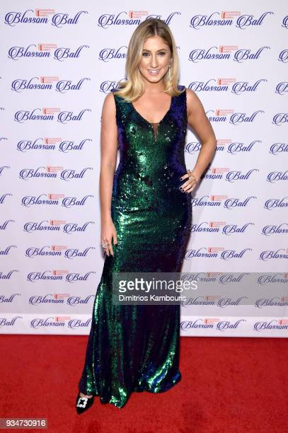 Alexa Curtis of Lifeinthefashionlane attends the Endometriosis Foundation of America's 9th Annual Blossom Ball at Cipriani 42nd Street on March 19...