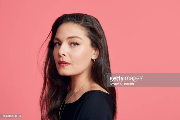 Alexa Davalo from Amazon's 'The Man in the High Castle' poses for a portrait at the Getty Images Portrait Studio powered by Pizza Hut at San Diego...