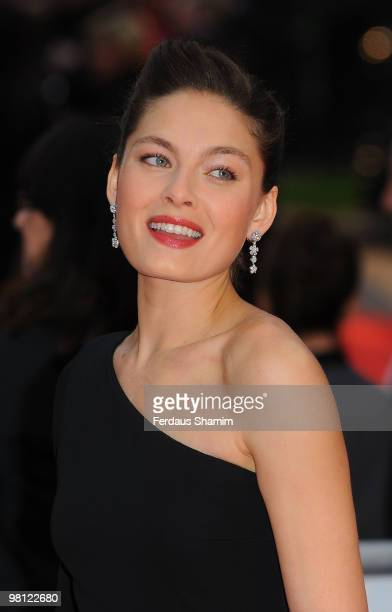 Alexa Davalos attends the World Premiere of 'Clash Of The Titans' at Empire Leicester Square on March 29, 2010 in London, England.