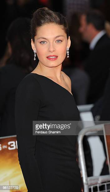 Alexa Davalos attends the World Premiere of 'Clash Of The Titans' at Empire Leicester Square on March 29 2010 in London England