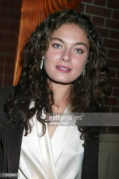 Alexa Davalos during 2005/2006 FOX Prime Time UpFront - Inside Green Room and Party at Seppi's Restaurant and Central Park Boathouse in New York...