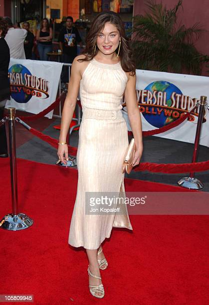 """Alexa Davalos during """"The Chronicles Of Riddick"""" World Premiere - Arrivals at Universal Amphitheatre in Universal City, California, United States."""