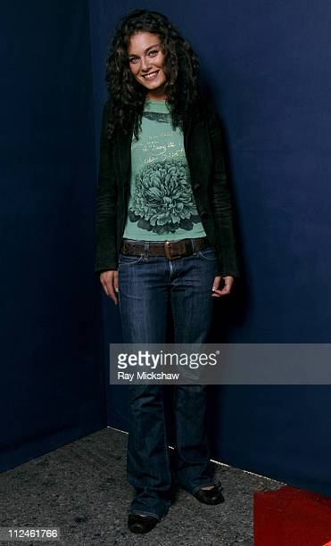 Alexa Davalos *Exclusive Coverage* during 2005 Teen Choice Awards - Portraits at Gibson Amphitheatre in Universal City, California, United States.