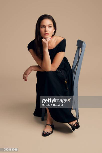 Alexa Davalos from Amazon's 'The Man in the High Castle' pose for a portrait at the Getty Images Portrait Studio powered by Pizza Hut at San Diego...