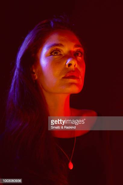 Alexa Davalos from Amazon's 'The Man in the High Castle' poses for a portrait at the Getty Images Portrait Studio powered by Pizza Hut at San Diego...