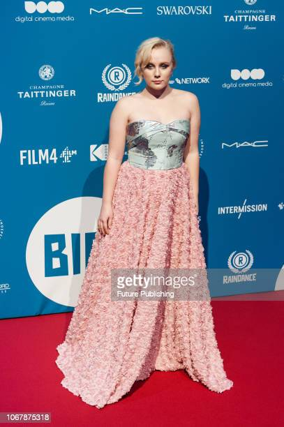 Alexa Davies attends the 21st British Independent Film Awards at Old Billingsgate in the City of London December 02 2018 in London United Kingdom