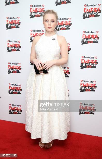 Alexa Davies attends the Rakuten TV EMPIRE Awards 2018 at The Roundhouse on March 18 2018 in London England