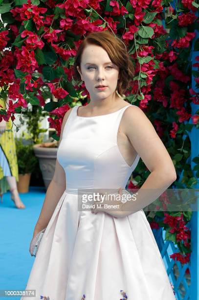 Alexa Davies attends the UK Premiere of 'Mamma Mia Here We Go Again' at the Eventim Apollo on July 16 2018 in London England