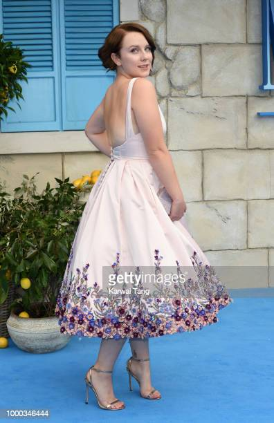 Alexa Davies attends the World Premiere of 'Mamma Mia Here We Go Again' at Eventim Apollo on July 16 2018 in London England