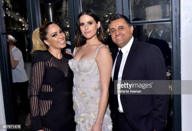 Alexa Dell and guests attend Alexa Dell and Harrison Refoua's Engagement Celebration at Ysabel on May 12 2018 in West Hollywood California