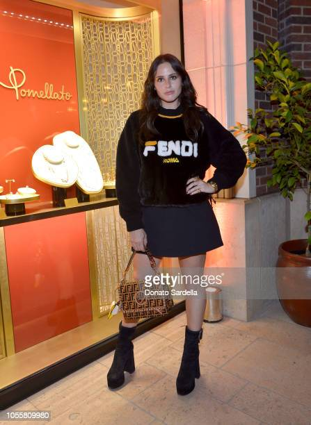 Alexa Dell attends the Pomellato store opening with Chiara Ferragni at Pomellato Beverly Hills on October 16 2018 in Beverly Hills California