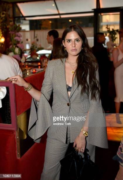 Alexa Dell attends Town Country 2018 New Modern Swans Celebration with Michael Kors Catherine ZetaJones and Carys Douglas on September 9 2018 in New...