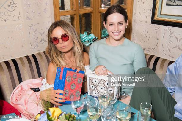 Alexa Dell attends Ximena Kavalekas and Margherita Missoni Lunch In Paris During Haute Couture on July 4 2018 in Paris France