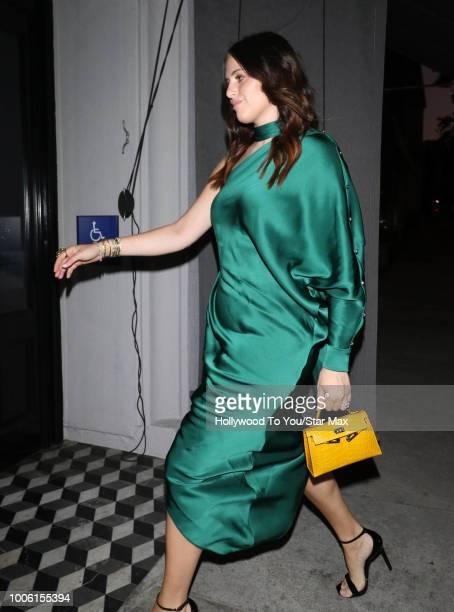 Alexa Dell is seen on July 26 2018 in Los Angeles CA