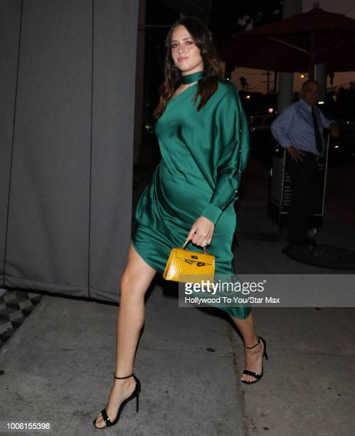 Alexa Dell is seen on July 26 2018 in Los Angeles CA