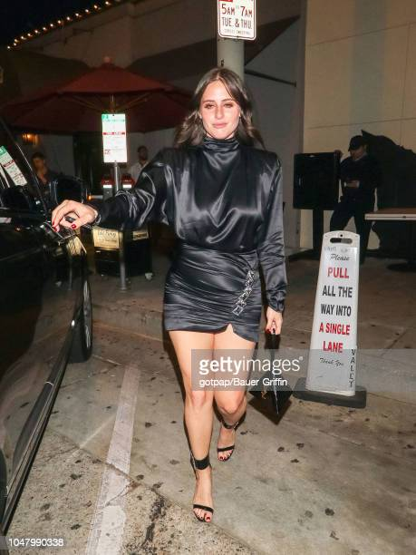 Alexa Dell is seen on October 08 2018 in Los Angeles California