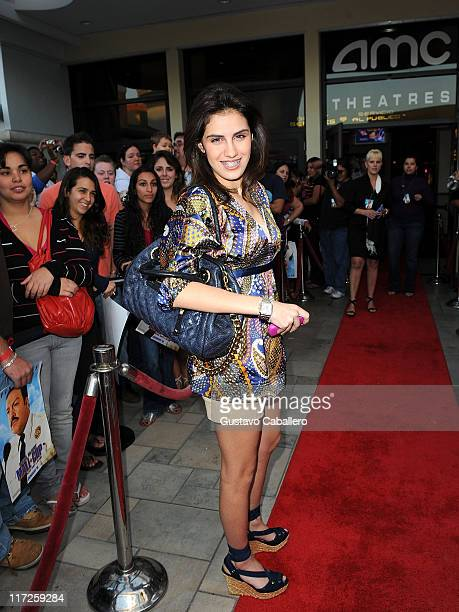 Alexa Dellanos attends the premiere of Kevin James Paul Blart Mall Cop at AMC Sunset Mall on January 8 2009 in Miami Florida