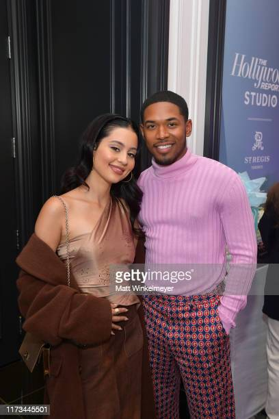 Alexa Demie and Kelvin Harrison Jr attend The Hollywood Reporter TIFF Studio presented by St Regis MAC and Martell at The St Regis Toronto on...