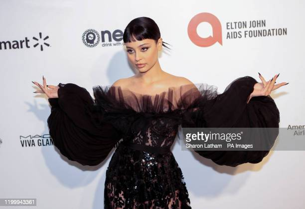 Alexa Demie attending the Elton John AIDS Foundation Viewing Party held at West Hollywood Park Los Angeles California USA The 92nd Academy Awards...