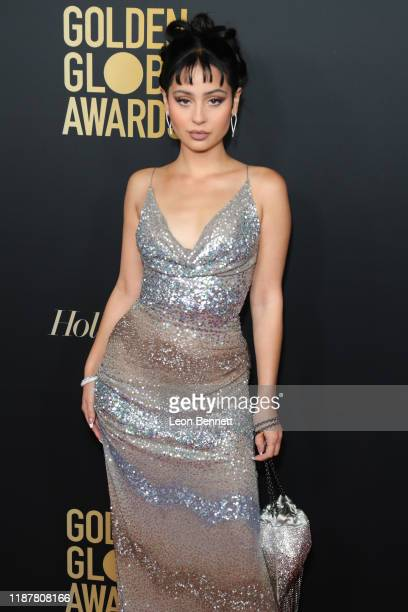 Alexa Demie attends HFPA And THR Golden Globe Ambassador Party at Catch LA on November 14 2019 in West Hollywood California